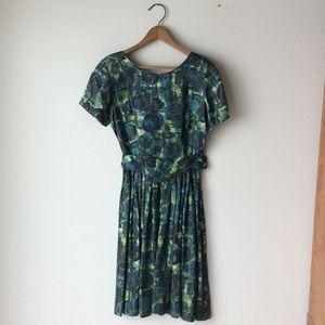 1980's Spring Dress